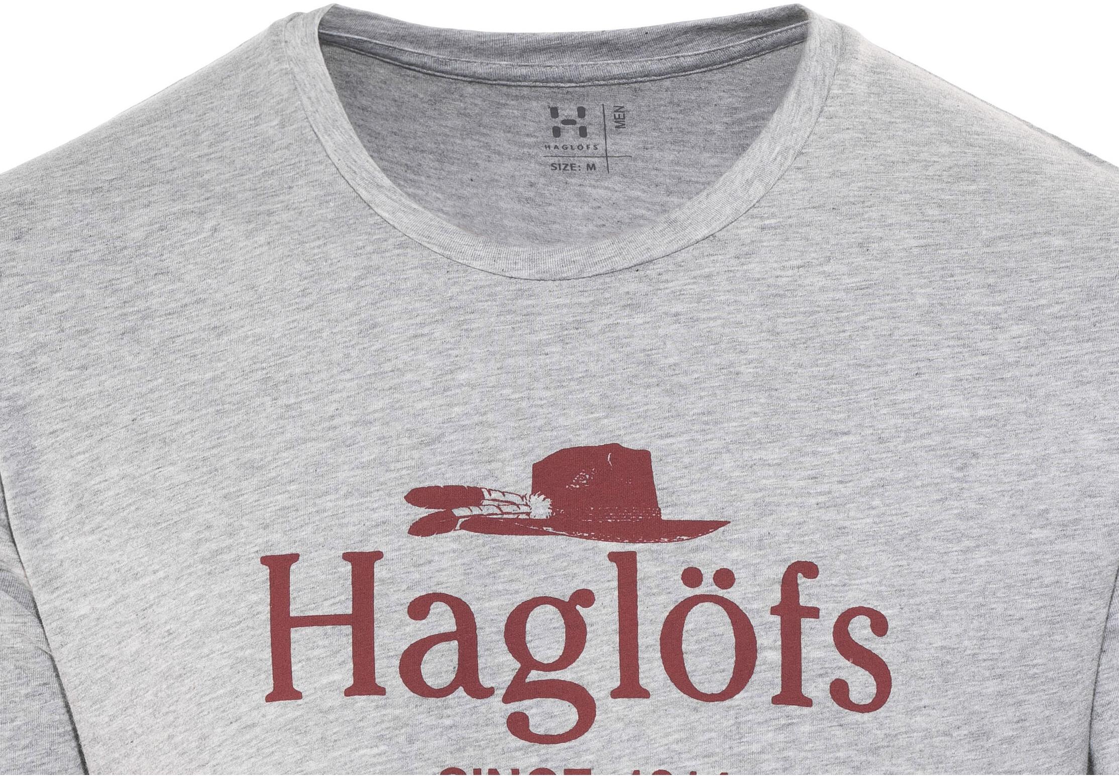 2227757f1dee8 Haglöfs Camp Bluzka z krótkim rękawem Mężczyźni szary   Sklep ...